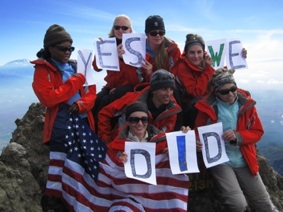 Yes We Did!      (Summit Meru)